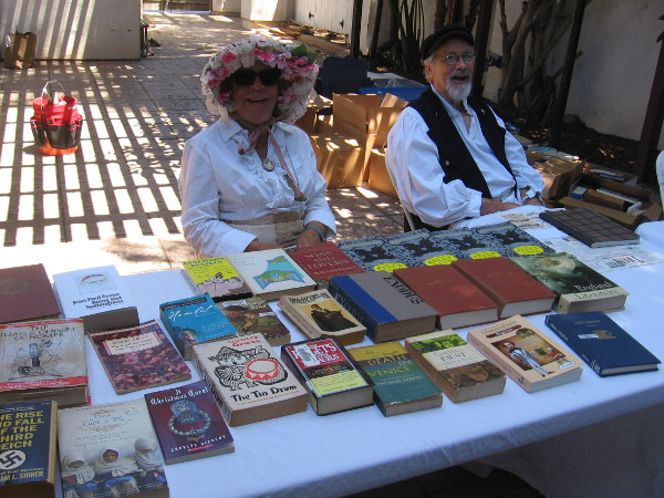 Of course, a literature themed event must include lots of classic books.