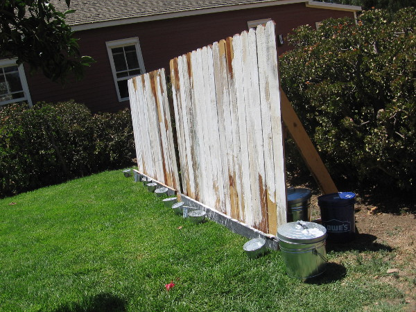 It appeared that some people had already painted Tom Sawyer's fence with whitewash!